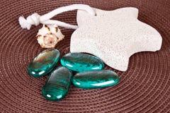 Foot stone Royalty Free Stock Photos