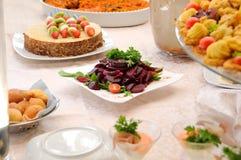 Food table Stock Image