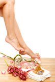 Foot therapy Royalty Free Stock Photos