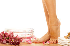Foot therapy Stock Photo