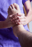 Foot therapy Stock Image