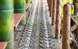 Foot treatment alley in the Chung Cheng Park. Keelung, Taiwan Stock Photography