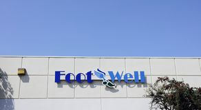 Foot Well Stock Photo