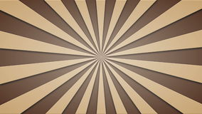 Footage animated background of brown beams. loopable 4k video. Footage animated background of brown rotating beams. loopable 4k video stock illustration