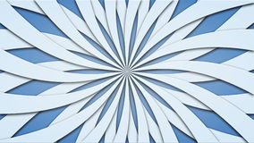 Footage animated background of rotating beams. loopable 4k. Video royalty free illustration