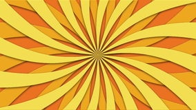 Footage animated background of rotating beams. loopable 4k. Video stock illustration