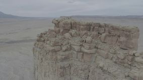 Rock Formations in Western Colorado stock footage