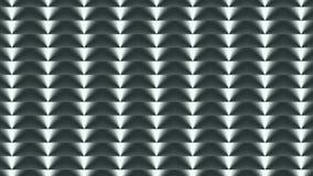 footage Fundo geométrico do cinza 3D O movimento contínuo de cima para baixo video estoque