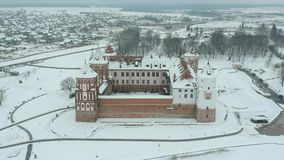 Footage Mir Castle Complex stock video