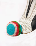 Footbag. Royalty Free Stock Image