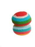 footbag 2 шариков Стоковые Изображения
