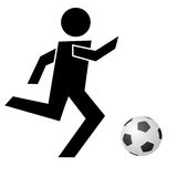 footbal Obraz Stock