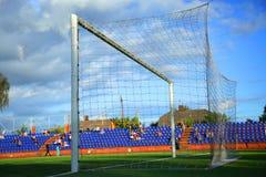 Footbal gate Stock Photo