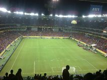 Footbal. Match in Brazil Royalty Free Stock Image