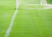 footbal pitch arkivfoton