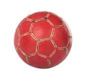 Footbal rojo con el camino de recortes Imagen de archivo