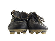 Footbal shoes Royalty Free Stock Images