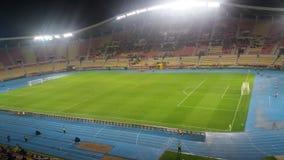 Footbal stadion skopje gradski park. Footbal stadion skopje macedonia Royalty Free Stock Images