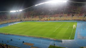 Footbal stadionu Skopje gradski park Obrazy Royalty Free