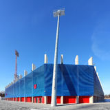 Footbal stadium The Doosan Arena in Pilsen. Stock Photography