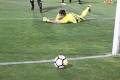 Footbalclub Partizan Belgrado royalty-vrije stock foto's