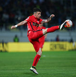 Football – ASTRA GIURGIU vs. DINAMO BUCURESTI Stock Images
