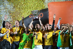 Football – ASTRA GIURGIU vs. DINAMO BUCURESTI Stock Photos