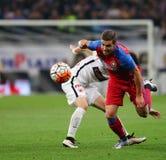 Football – STEAUA BUCHAREST vs. DINAMO BUCHAREST Royalty Free Stock Photo