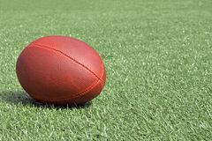 Football. Perfect image of a football on artificial turf Stock Images