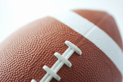 Football. Closeup of a ball for american football Stock Photo