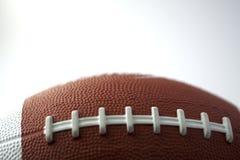 Football. Closeup of a ball for american football Stock Photos