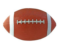 Football. View of a ball for american football Stock Photos