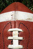 Football. Close-up of an American football royalty free stock photo