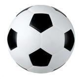 Football isolated on white background