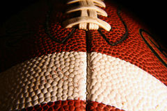 Football 2. A close up of a football Royalty Free Stock Images