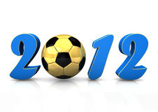Football 2012 Royalty Free Stock Photos