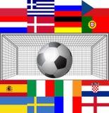 Football 2012 light Stock Image
