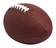 Football. On white with clipping path