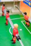Football. Red and orange football players Stock Image