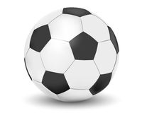 Football. Illustration of football on white background Royalty Free Stock Photography