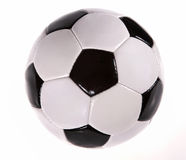 Football. Black and white fooball on white background Royalty Free Stock Images