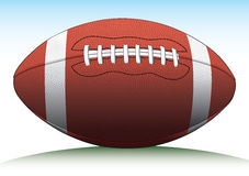 Football. Illustration of a football used in American type football Royalty Free Stock Images