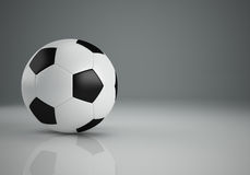 Football 3d rendering  Stock Images