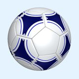 Football. Computer generated soccerball Stock Photos