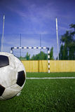 Football 9. Football Course for background (flyer, web, newspapers Royalty Free Stock Image