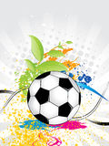 Football abstract background. Vector illustration Royalty Free Stock Images
