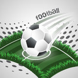 Football abstract  background. Stock Photography