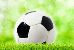 Football abstract backgrounds Stock Image
