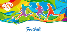 Football Olympics Stock Images