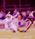 Football Action Abstract Blur. American football players in action abstract blur stock photography